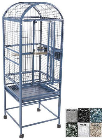A&E Cage 9001818 Sandstone Small Dome Top Bird Cage - Peazz Pet
