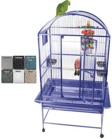 "A&E Cage 9003223 Sandstone 32""x23"" Dome Top Cage with 3/4"" Bar Spacing - Peazz Pet"