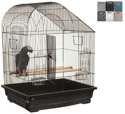 "A&E Cage AE29627 Ivory 2 Pack of 25""x21"" Slant Top Cage - Peazz Pet"