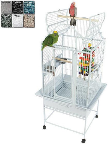 "A&E Cage GC6-2422 Black 24""x22"" Opening Victorian Top Cage - Peazz Pet"