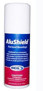 AluShield Aerosol Bandage, 75 gm, 2.6 oz. - Peazz Pet