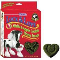 Luck & Love Alfalfa/Apple Treat 1 Lb (53304) - Peazz Pet