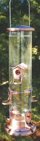 Mega Tube Feeder Brown 19 X 4 Diamet (Namega) - Peazz Pet