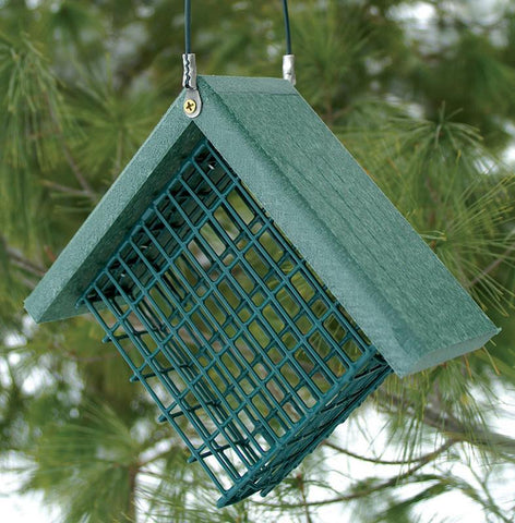 Go Green Suet Feeder Green 7X3X6 (Naggsuet) - Peazz Pet