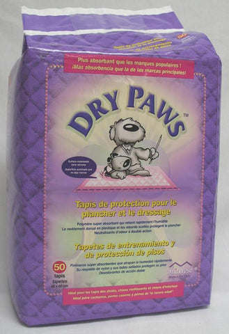 Dry Paws Training Pads 50 Pack (Pps50) - Peazz Pet