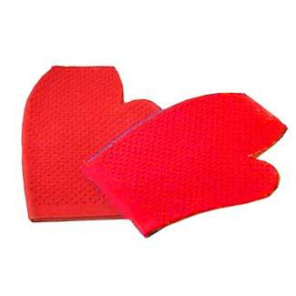 "Partrade Massage Glove Rubber 9"" (244847\222422) - Peazz Pet"