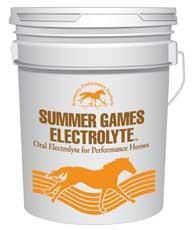 Summer Games Electrolyte 40 Lbs (63-1010) - Peazz Pet