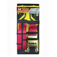 Keeper Ratchet Tie Down 14 Ft - Red (5520)