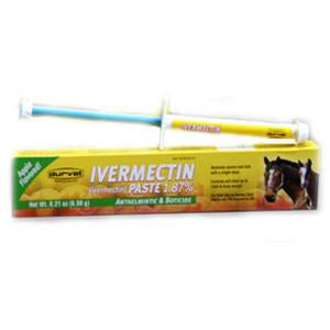 Durvet Ivermectin Paste 1.87% for Horses 6.08 Gram (001-1034) - Peazz Pet