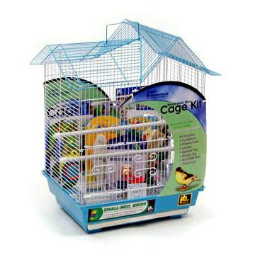 Double Roof Bird Cage Kit (91110) - Peazz Pet