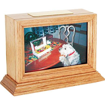 Benton Series Pet Urns (Light Oak Finish) - Peazz Pet