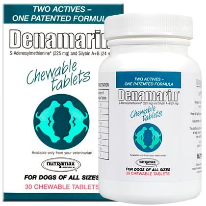 Denamarin 225 mg for Dogs of All Sizes (30 Tabs) - Peazz Pet