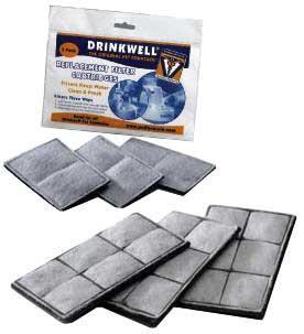Drinkwell Premium Replacement Filters (VV-RF6C) - Peazz Pet