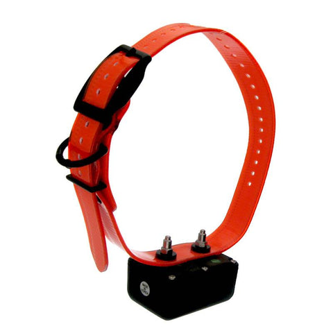 D.T. Systems H2O 1800 PLUS Add-On Collar with Orange Strap - Peazz Pet