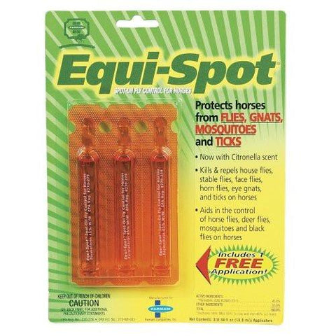Equi-Spot for Horses, 3 x 10 ml Tubes/Package - Peazz Pet