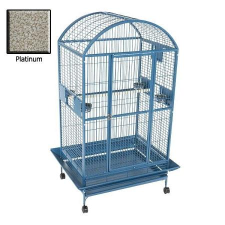 Amazon Dome Top Bird Cage - Platinum - Peazz Pet