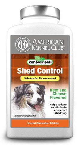 AKC RenewTrients Shed Control- 100 Tablet (SuppShed100) - Peazz Pet