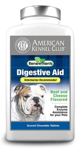 AKC RenewTrients Digestive Aid - 50 Tablet (SuppDigest50) - Peazz Pet