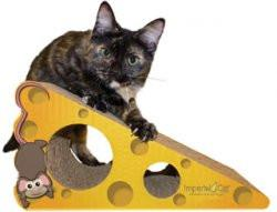 Imperial Cat Animal Scratch 'n Shapes Food Scratcher Chee...