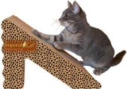 Imperial Cat Shape Scratch 'n Shapes Rub N' Ramp Scratcher - Peazz Pet