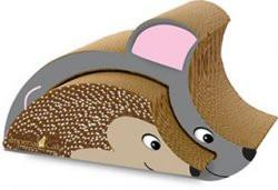 Imperial Cat Animal Scratch 'n Shapes Mouse & Hedgehog Combo