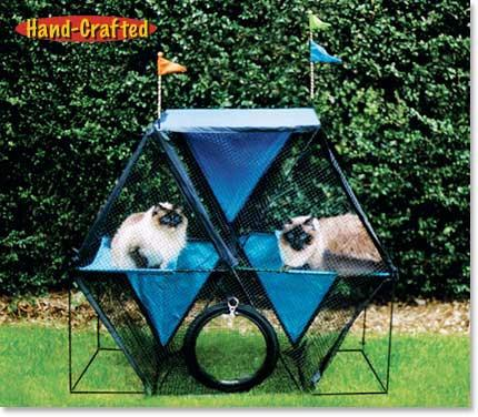 Kittywalk Ferris Wheel (KWSFW110) - Peazz Pet