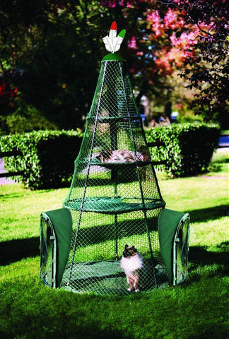 Kittywalk Teepee (KWTSP501) - Peazz Pet