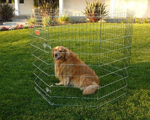 "24"" Majestic Pet Exercise Kennel Pen - Small - Peazz Pet"