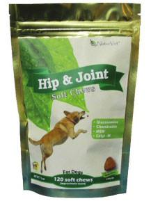 NaturVet Hip & Joint Soft Chews, 120 Chews - Peazz Pet