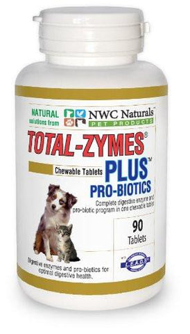 NWC Naturals Total-Zymes Plus Tablets - 90 ct - Peazz Pet