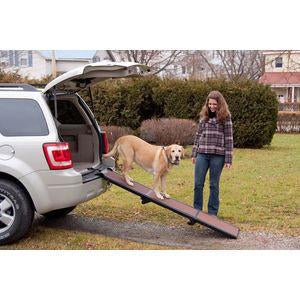 Pet Gear TL9371CH Full Length Tri-Fold Pet Ramp - Peazz Pet