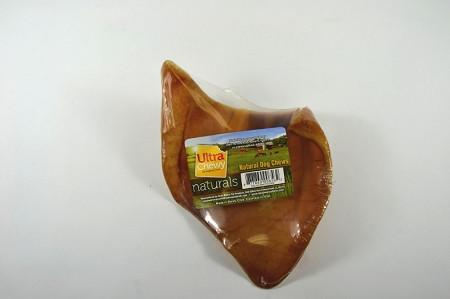 100 Pack Pig Ears Made in USA - Peazz Pet