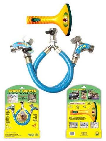 Booster Bath Tropical Shower (TS-420) - Peazz Pet