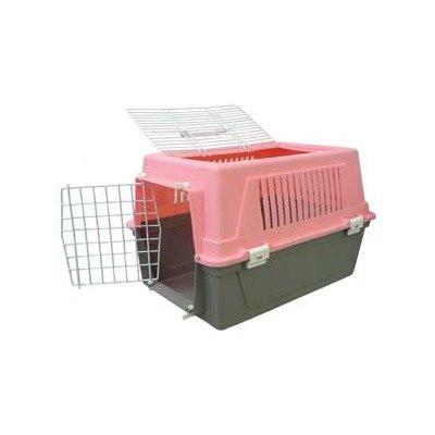 YML Group Z100D-PK Pet Kennel Travel Carrier - Pink - Peazz Pet