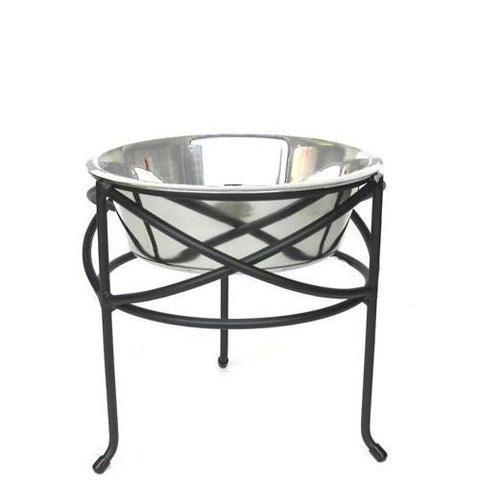 Mesh Elevated Dog Bowl - Small - Peazz Pet