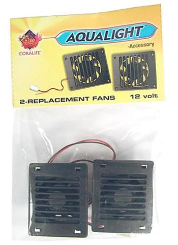 Coralife Aqualight Replacement Fans (53098) - Peazz Pet