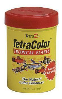 Tetracolor Flakes 2.82 Oz - large Flakes (16265) - Peazz Pet