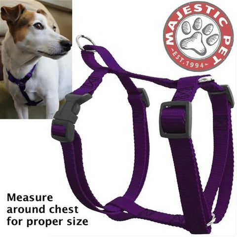 Majestic Pet Products 12in - 20in Harness Purple, Sml 10 - 45 lbs Dog By Majestic Pet Products - Peazz Pet