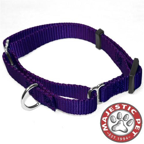 Majestic Pet Products 10in - 16in Martingale Purple, 10 - 45 lbs Dog By Majestic Pet Products - Peazz Pet