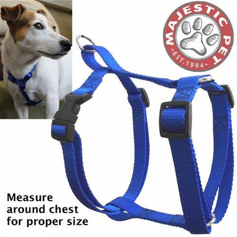 Majestic Pet Products 12in - 20in Harness Blue, Sml 10 - 45 lbs Dog By Majestic Pet Products - Peazz Pet