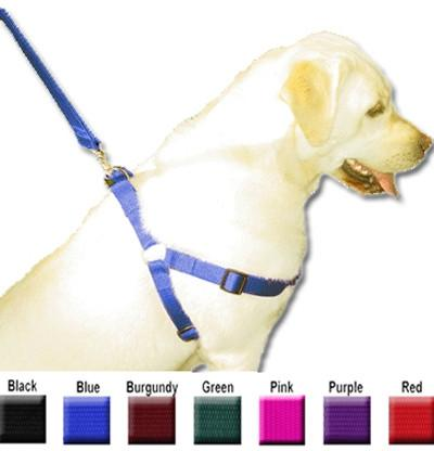 Majestic Pet Products 25in - 40in Step In Harness Burgundy, Xlrg 100-200 lbs Dog By Majestic Pet Products - Peazz Pet