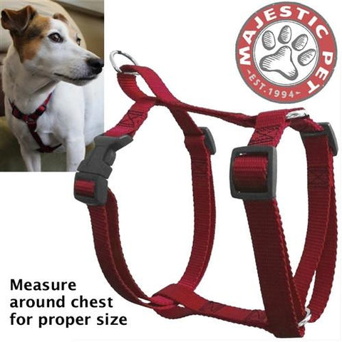 Majestic Pet Products 12in - 20in Harness Red, Sml 10 - 45 lbs Dog By Majestic Pet Products - Peazz Pet