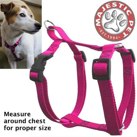 Majestic Pet Products 12in - 20in Harness Pink, Sml 10 - 45 lbs Dog By Majestic Pet Products - Peazz Pet