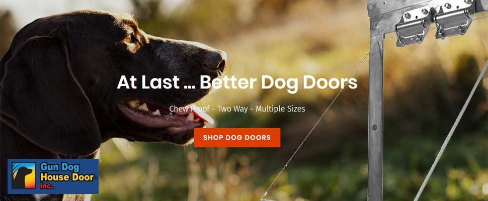Gun Dog House Door Sale