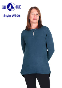 Modern Softknit Tunic