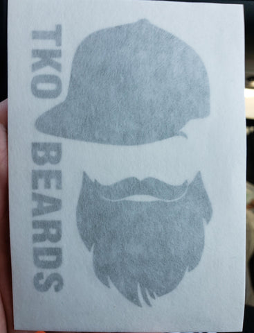 TKO Beards Decal