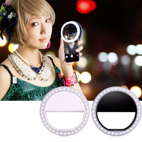 Image of Mobile Phone Selfie Light