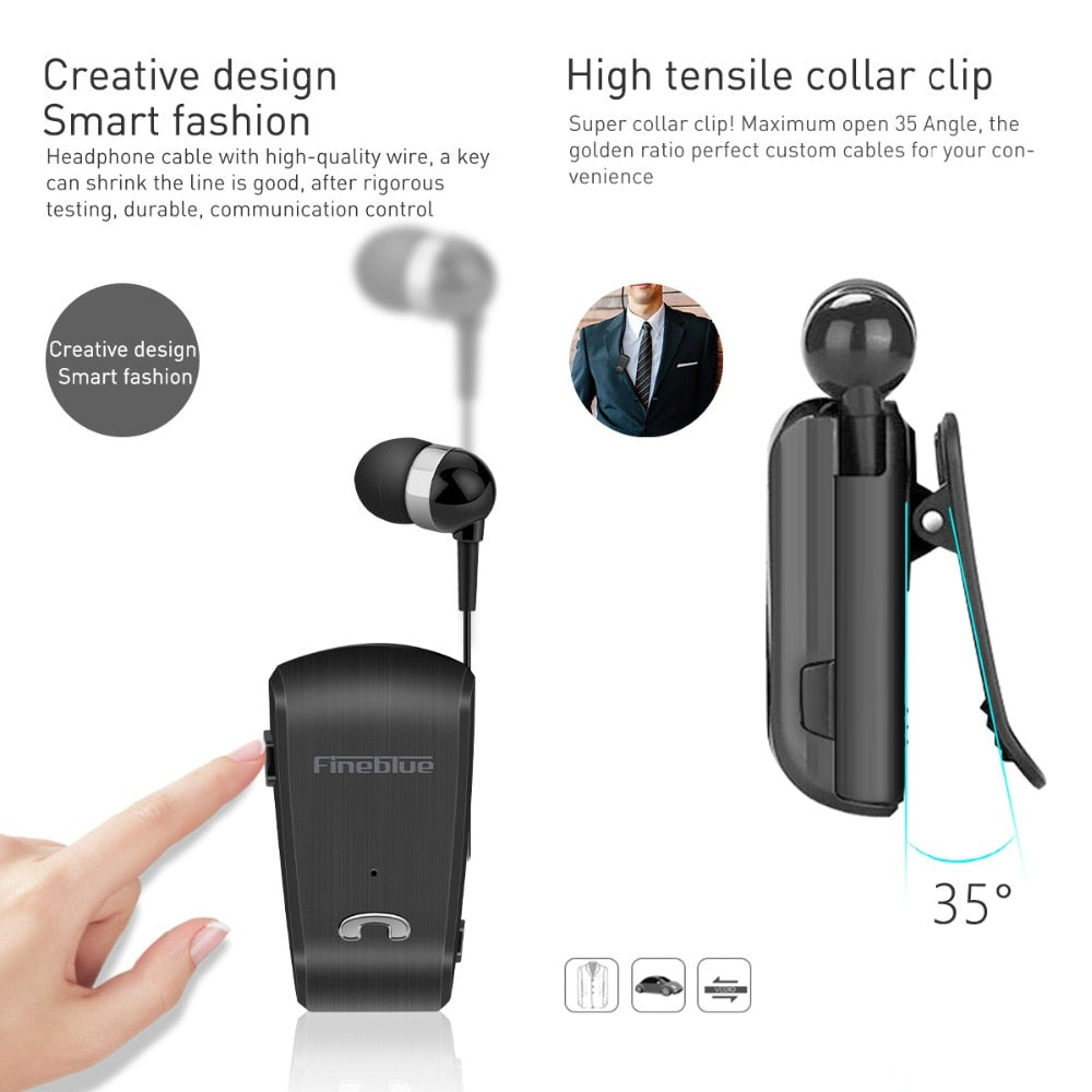 Sport Driver Mini Wireless Business Headset With Mic