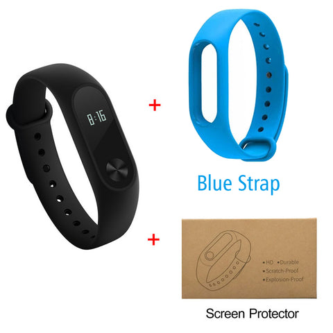 Image of Fitness Tracker W/Exchangeable Bands And Screen Protector