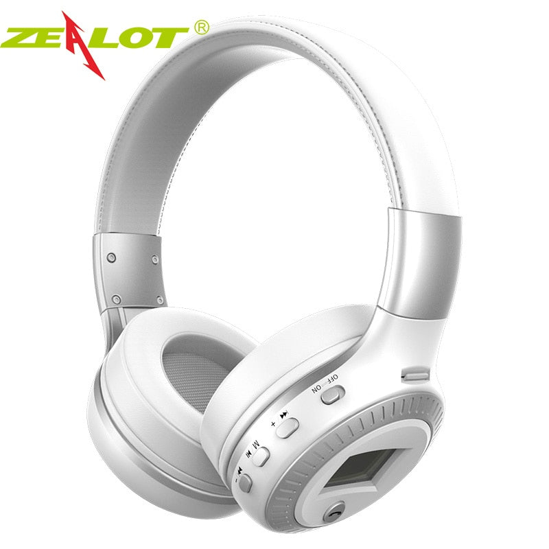 Wireless Stereo Headphone w/FM Radio